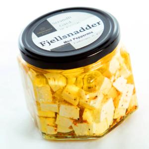 """Fjellsnadder"" salatost - Strandli"